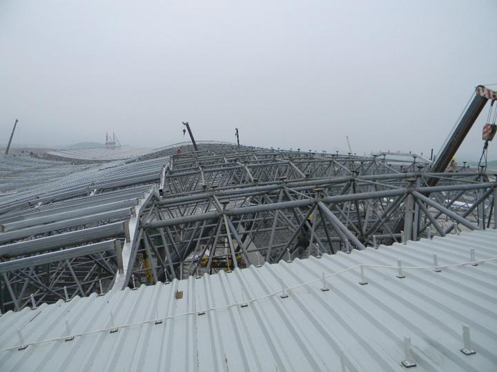 昆明市国际会展中心_贵阳机场-镇江市凯盛钢构有限公司